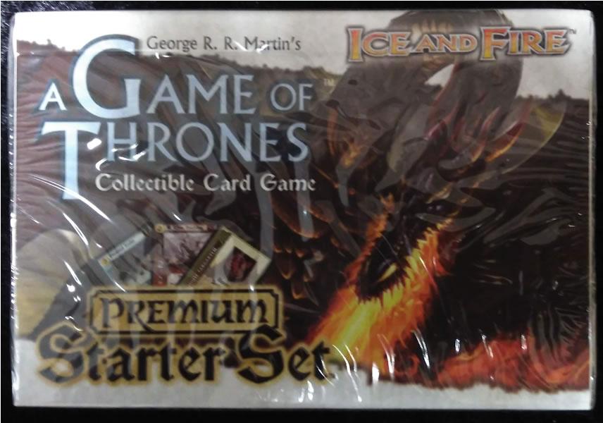 Game of Thrones - Sammelkartenspiel (Englisch): Ice & Fire Edition - Premium Starter Set