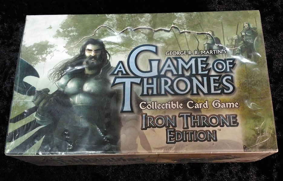 Game of Thrones - Sammelkartenspiel (Englisch): Iron Thron Edition Booster-Box