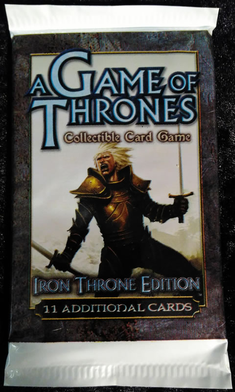 Game of Thrones - Sammelkartenspiel (Englisch): Iron Thron Edition Booster