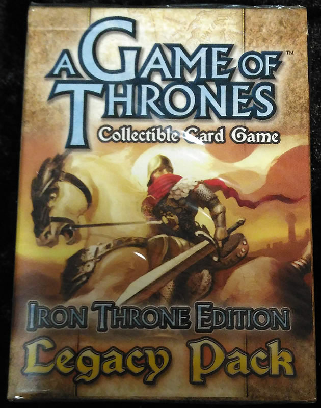 Game of Thrones - Sammelkartenspiel (Englisch): Iron Thron Edition - Legacy Pack