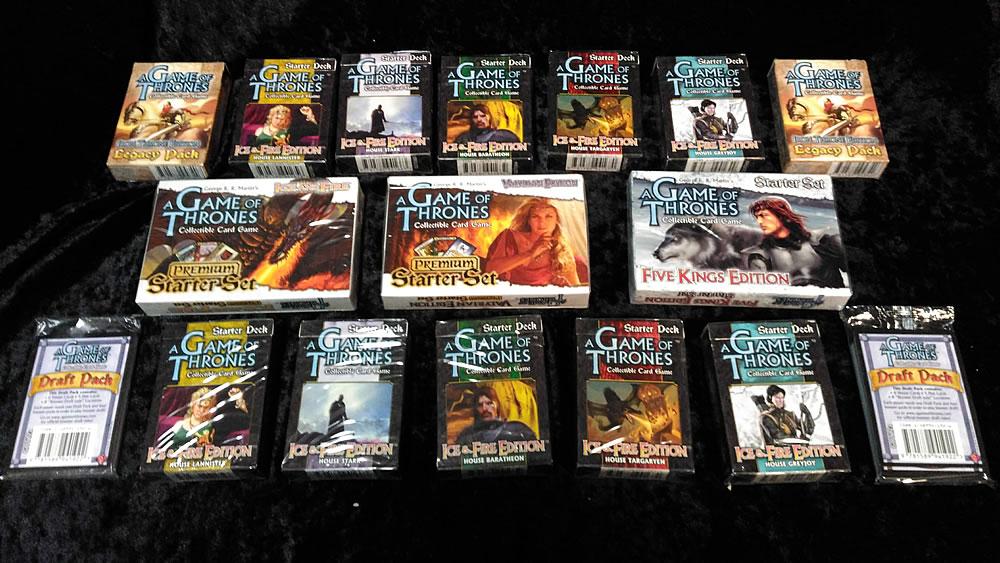 Game of Thrones - Sammelkartenspiel (Englisch): Mega Pack