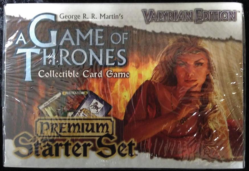 Game of Thrones - Sammelkartenspiel (Englisch): Valyrian Edition - Premium Starter Set