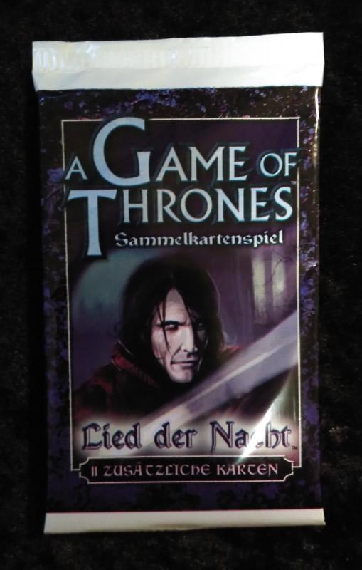 Game of Thrones - Sammelkartenspiel (deutsch): Lied der Nacht (Booster)