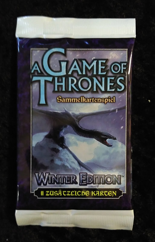 Game of Thrones - Sammelkartenspiel (deutsch): Winter Edition (Booster)