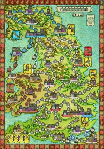 Hansa Teutonica Britannia - Eine Erweiterung zum Spiel Hansa Teutonica