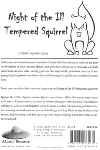 Night of the Ill-Tempered Squirrel - Jenseits jeglicher Kritik!