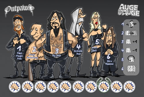 Auge um Auge - Die Rockerbande