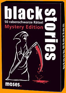 Black Stories - Mystery Edition - Black Stories, die das Blut in den Adern gefrieren lassen...