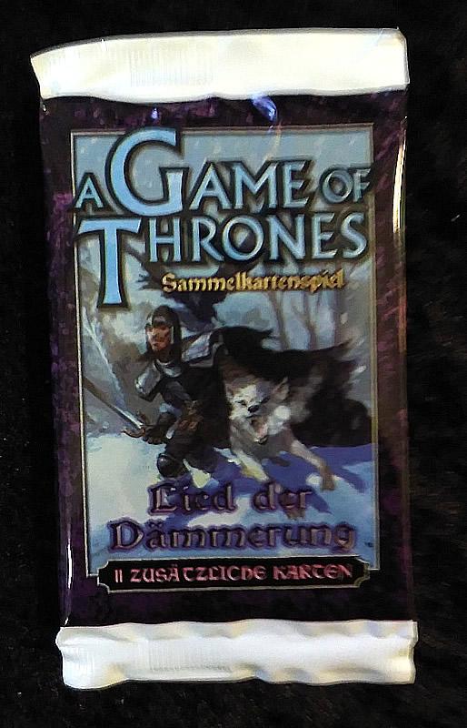 Game of Thrones - Sammelkartenspiel (deutsch): Lied der Dämmerung (Booster)
