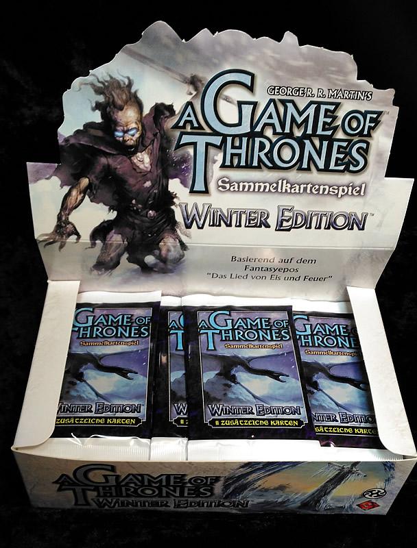 Game of Thrones - Sammelkartenspiel (deutsch): Winter Edition (Booster)
