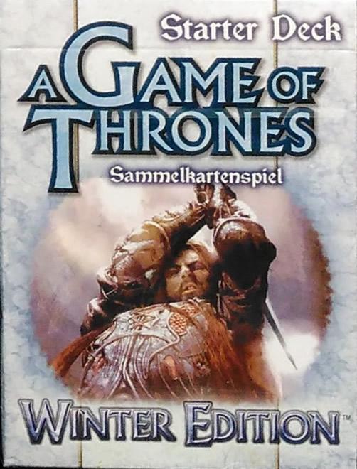 Game of Thrones - Sammelkartenspiel (deutsch): Winter Edition (Starter Deck)
