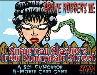 B-Movie: Grave Robbers3: Suburban Slashers from Sunnydale Street (englisch)