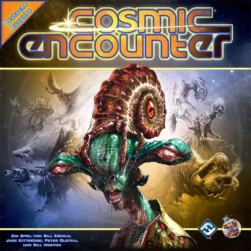 Cosmic encounter (deutsch) - Erschaffe ein galaktisches Imperium …