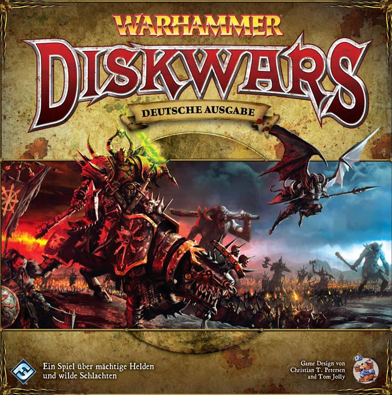 Warhammer Diskwars (deutsch) - Das Zeitalter der Kriege hat begonnen.
