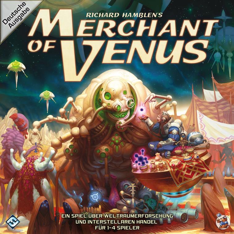 Merchant of Venus (deutsch) - Ein Spiel über Weltraumerforschung und interstellaren Handel.