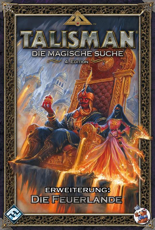 Talisman Erweiterung: Die Feuerlande (deutsch)