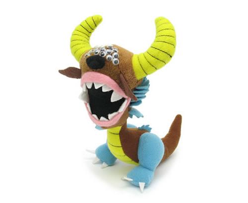 Mini schwarze Bestie von Arrrggghhh - kleines Plüsch-Monster