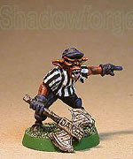 GRIDIRON REFEREE GROUCHY GREENUTTS - Blood Bowl Schiedsrichter