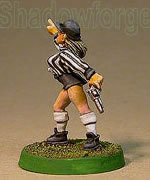 GRIDIRON HUMAN REFEREE PRISCILLA WELSTAKT - Blood Bowl Schiedsrichter