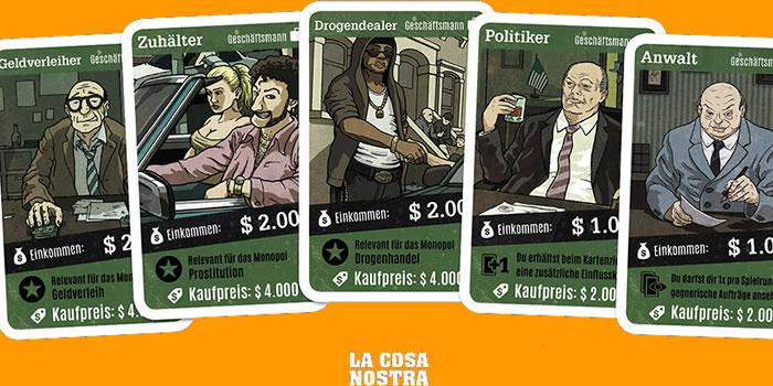 La Cosa Nostra Spiel