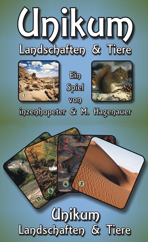 Unikum - Landschaften & Tiere  - Ein neuartiges Kommunikationsspiel.