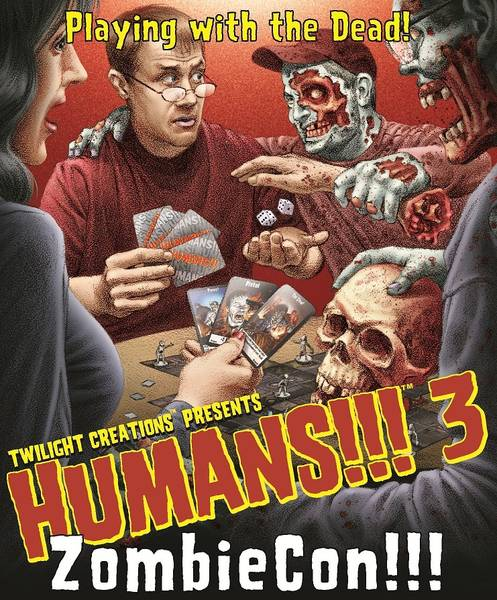 Humans!!! 2 - Expansion (englisch): ZombieCon!!!